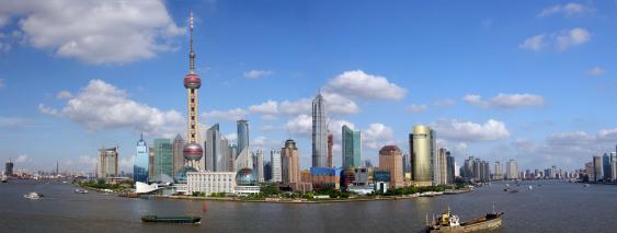 Shanghai - eine der Metropolen Asiens