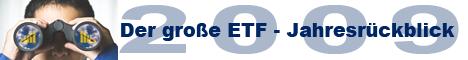 Der große ETF-Jahresrückblick 2009