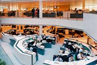 ETF Handelsraum