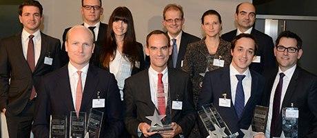 Gewinner der EXtra-ETP-Awards 2013