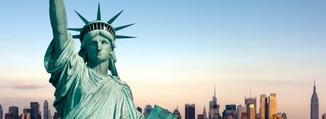 USA Freiheitsstatue klein
