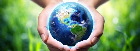 Welt in einer Hand M