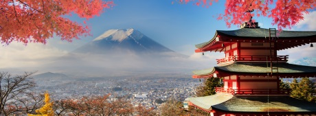 Japan Fujiama klein