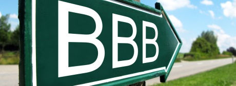BBB-Rating klein