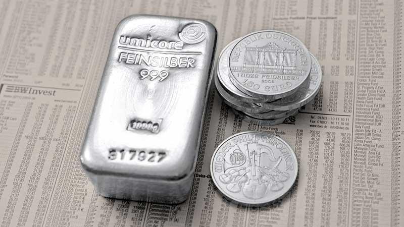 Silber  Alles über das Investieren in Silber mit ETFs und ETPs