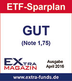 comdirect ETF-Sparplan erhält Note GUT