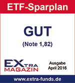 DAB Bank ETF-Sparplan erhält Note GUT