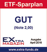 maxblue ETF-Sparplan erhält Note GUT