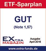 S Broker ETF-Sparplan erhält Note GUT