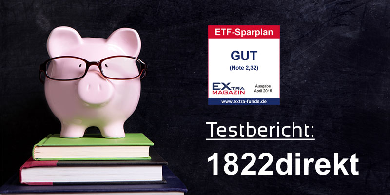 1822direkt ETF-Sparplan Test