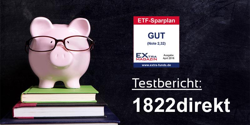 1822direkt ETF-Sparplan Test