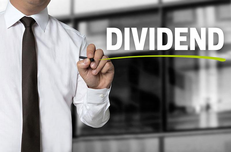 Dividendenausschüttungen erhöhen die Rendite.