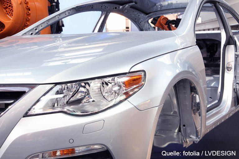 Autoindustrie Fabrik