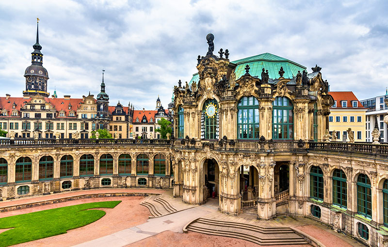 Zwinger Palace in Dresden, Saxony