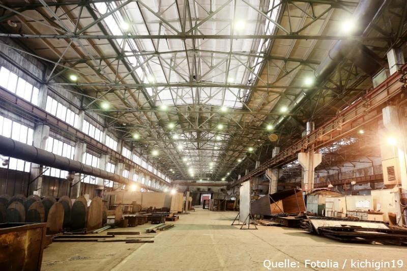 Fabrikhalle