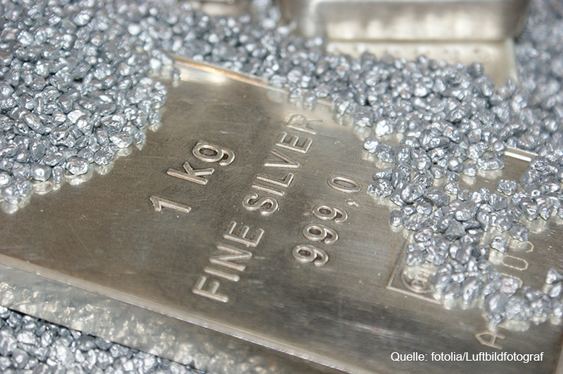 Silber – ein weiterer sicherer Hafen für Anleger