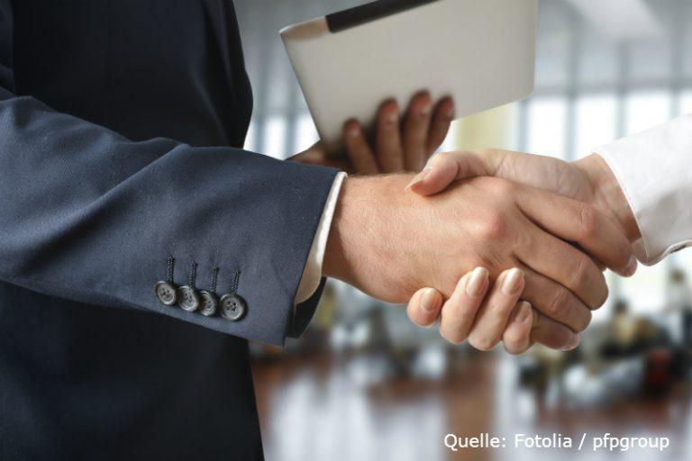 business-handschlag