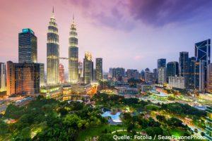 Ein Investment in Malaysia kann sich für risikobewusste Anleger rentieren.
