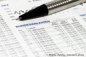 Ein Staatsanleihen-ETF weist geringe Schwankungen und eine solide Rendite auf.