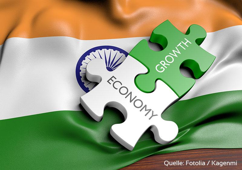 Indien vor Wachstumsschub