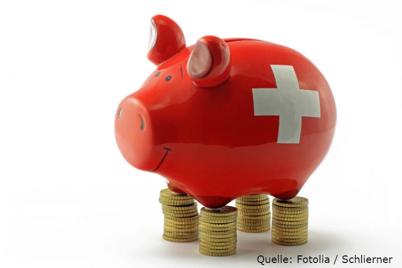 In der Schweiz Jagd nach Dividenden machen.