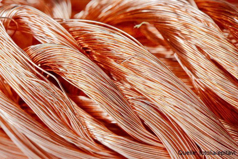 Kupfer-ETC: Kupferpreis geht durch die Decke