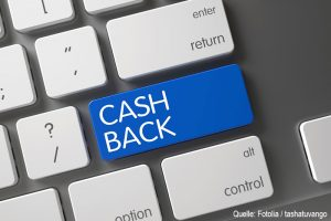 Cashback sparen in ComStage ETF bei comdirect