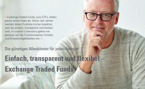 Einfach, transparent und flexibel – Exchange Traded Funds