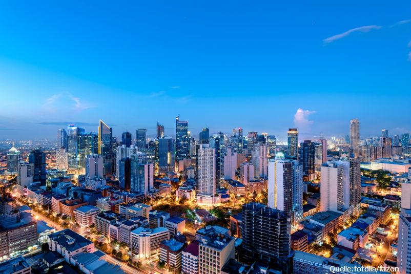 Philippinen starten gut ins neue Jahr