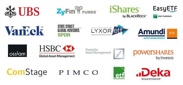 Liste der ETF-Anbieter