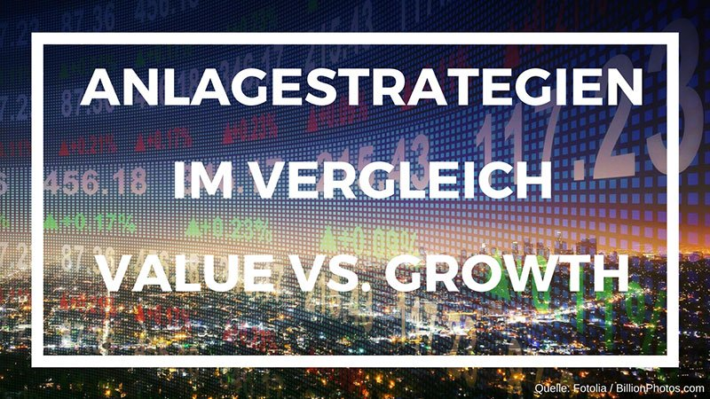Value vs. Growth: Anlagestrategien wie zwei Religionen