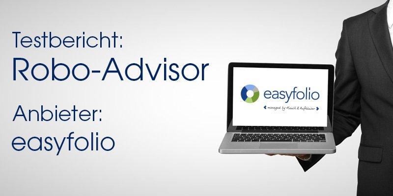 easyfolio Robo-Advisor Test