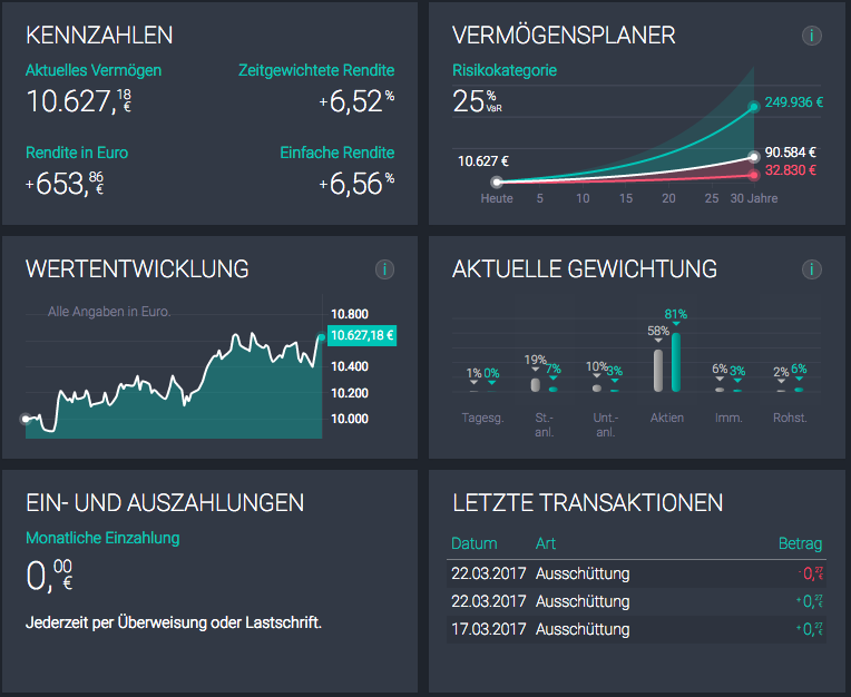 Scalable Capital Dashboard