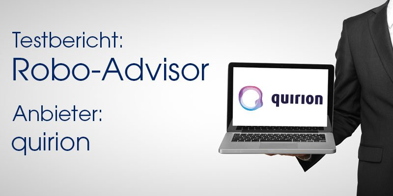 quirion Robo-Advisor Test