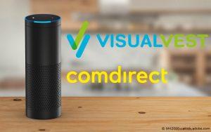 Amazon Alexa VisualVest comdirect