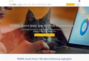 ROBIN - Test - Deutsche Bank - Robo-Advisor