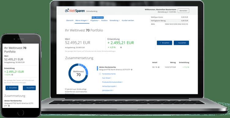 WeltInvest Dashboard