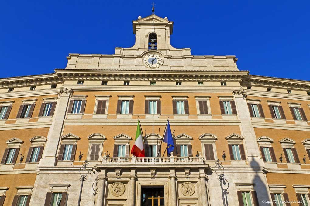 Italien-Parlament