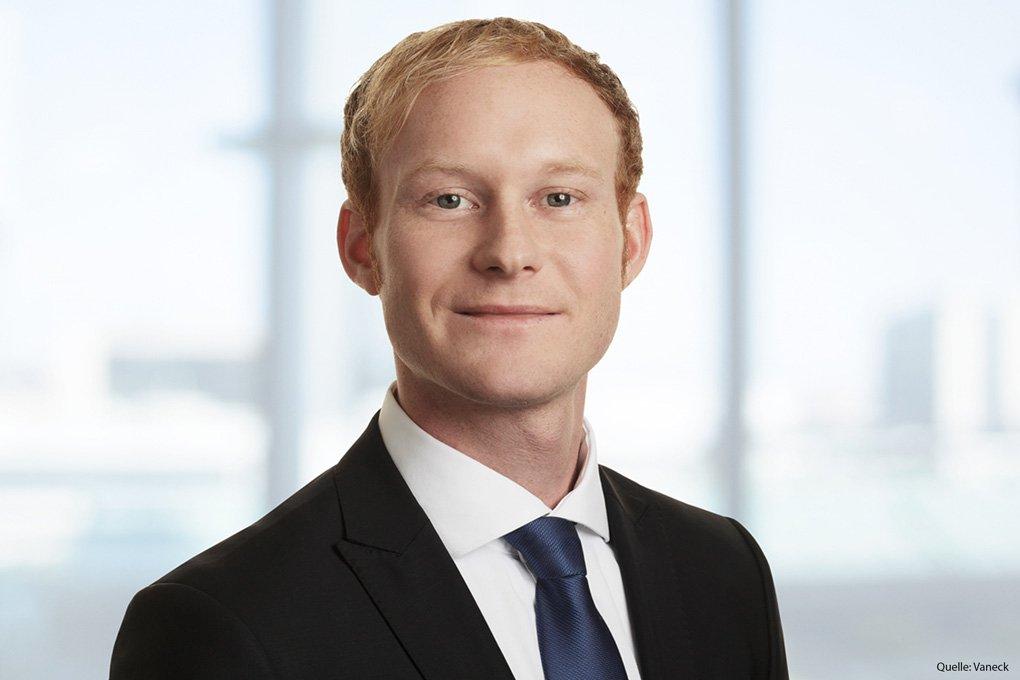 Dominik Schmaus neuer Produktmanager bei Vaneck Europe