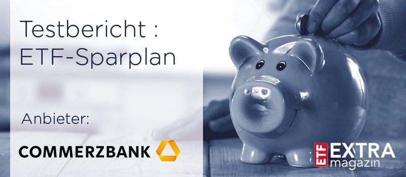 Commerzbank ETF-Sparplantest