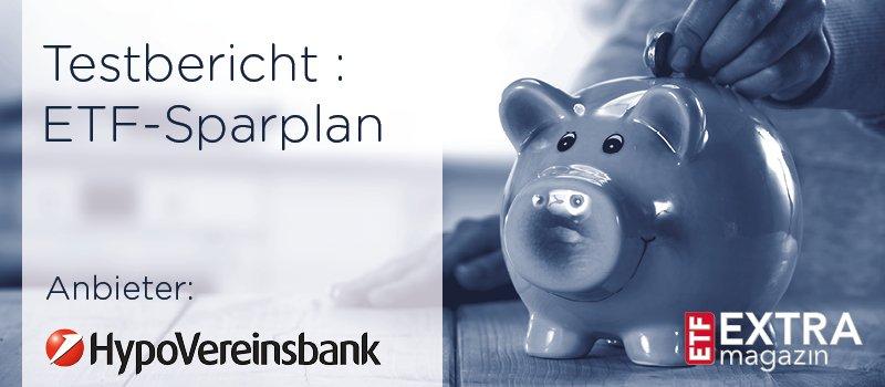 HypoVereinsbank ETF-Sparplantest