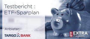Targobank ETF-Sparplantest