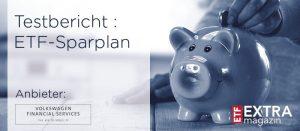 Volkswagen ETF-Sparplantest