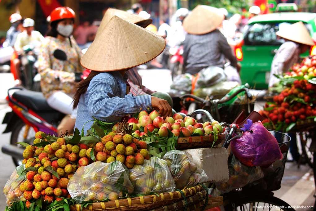 Vietnam-Marktfrau