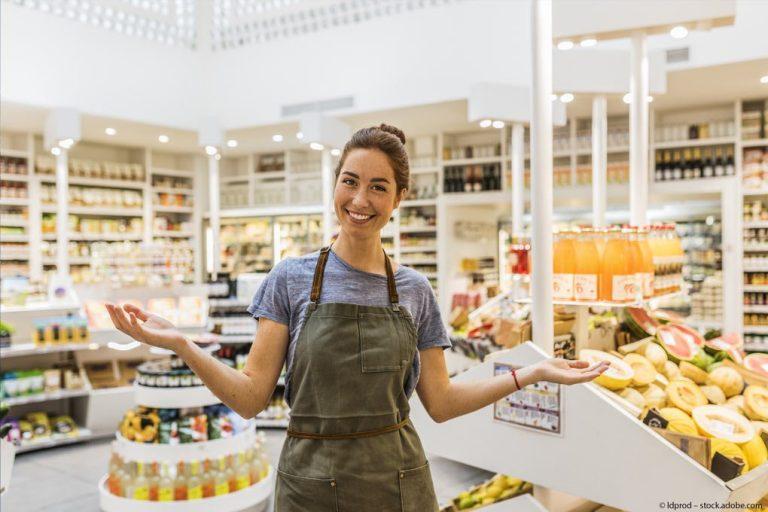 Komsumgueter-Supermarkt