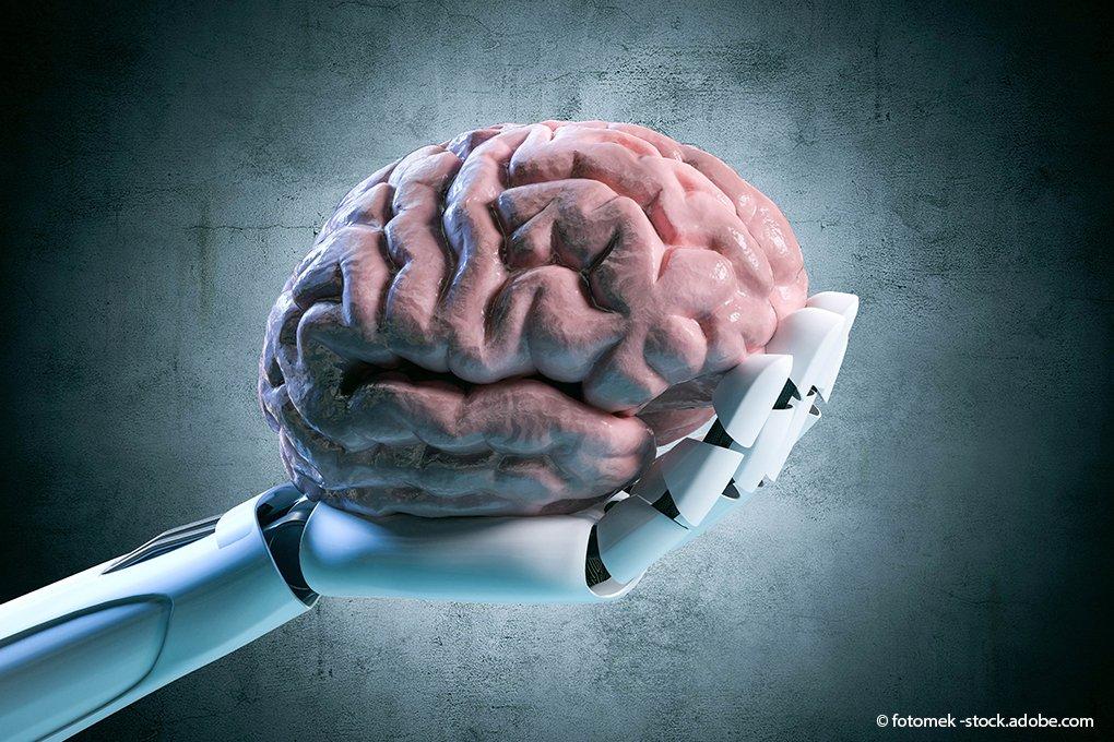Künstliche-Intelligenz–Gehirn