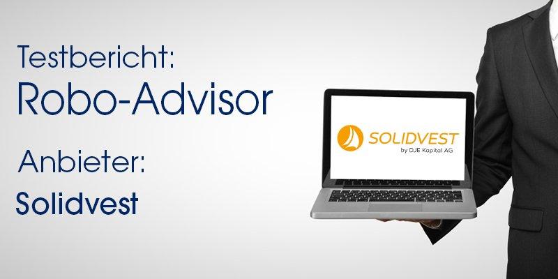 Solidvest Robo-Advisor Test