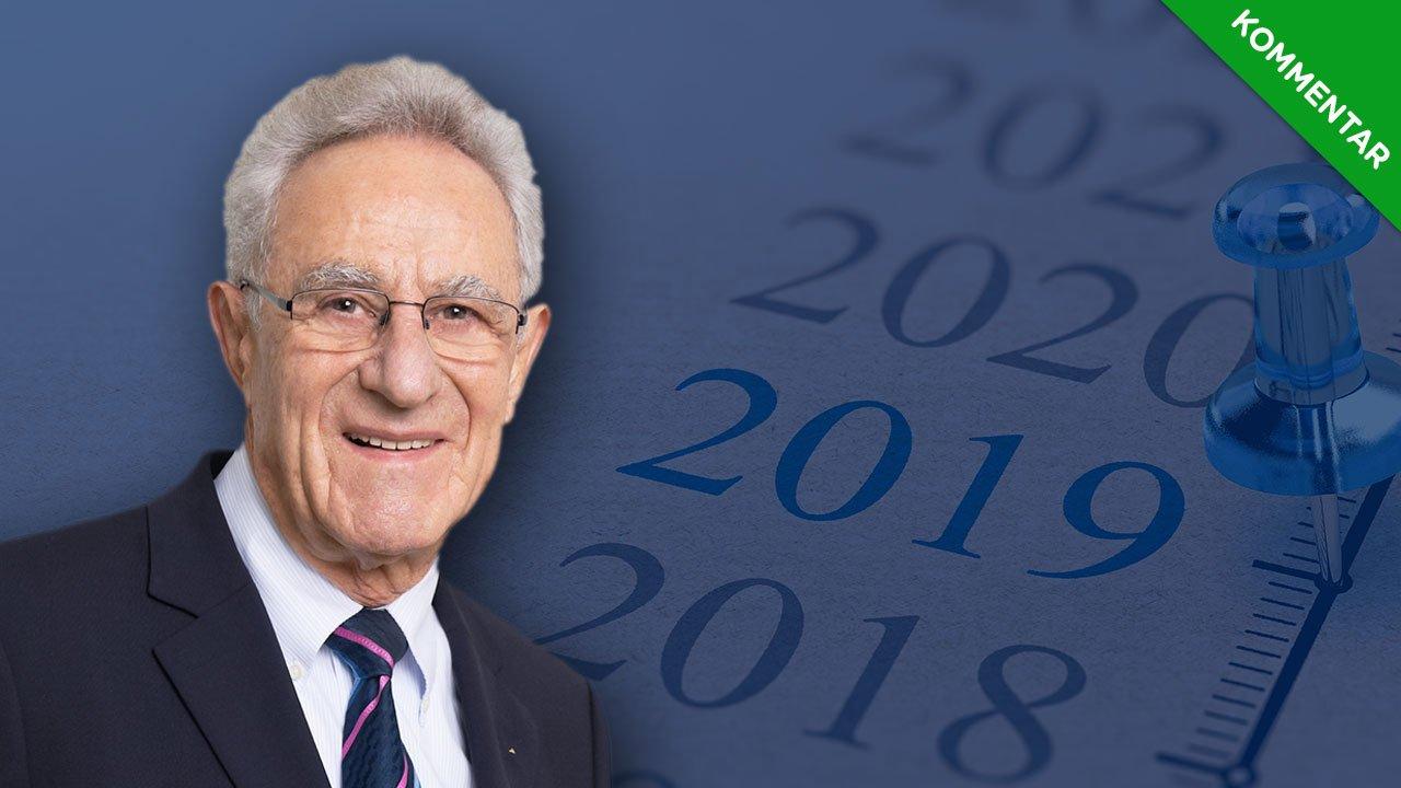 Jahresausblick 2019 – Ein gutes Börsenjahr trotz störender Politik