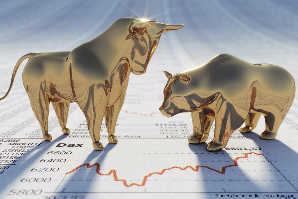 Ebase-Umfrage: Finanzprofis rechnen 2019 mit Dax-Anstieg