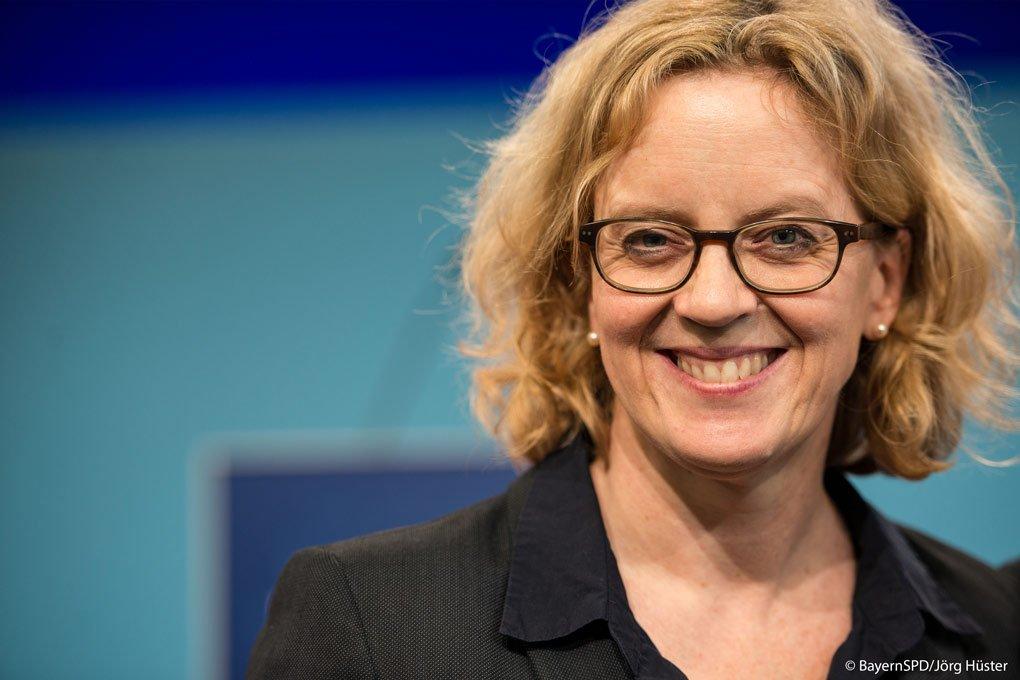 Natascha Kohnen, stellvertretende SPD-Bundesvorsitzende und Landesvorsitzende in Bayern.